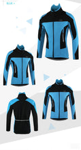 Load image into Gallery viewer, Waterproof Thermal Fleece Cycling Jacket