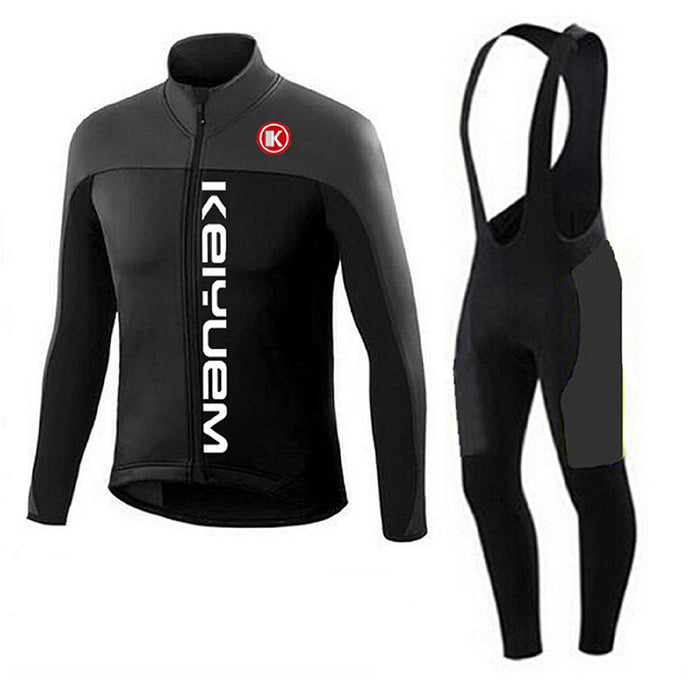Stealth Winter Long Sleeve Jersey and Tights Combo