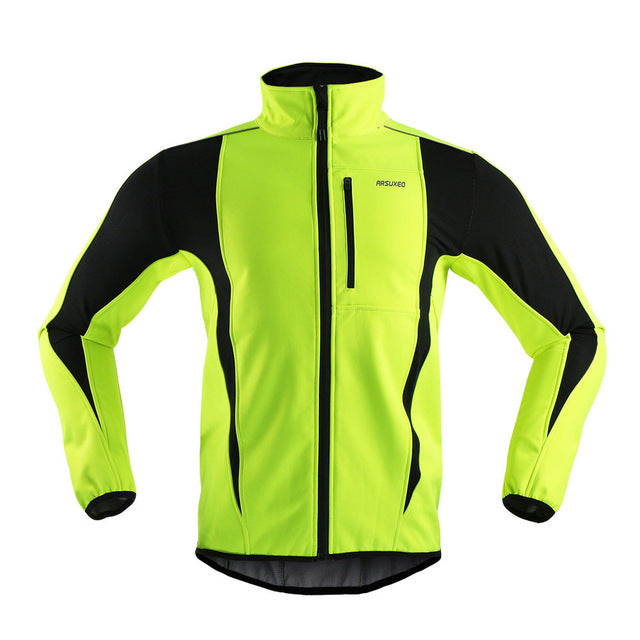 ARSUXEO Bright Colours Thermal Fleece Jacket