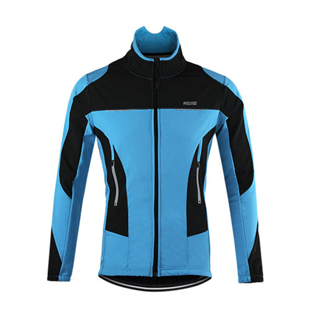 Waterproof Thermal Fleece Cycling Jacket