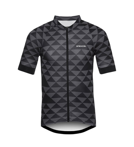 Black Triangle Cycling Jersey