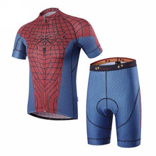 Spider Man Cycling Jersey and Shorts Combo