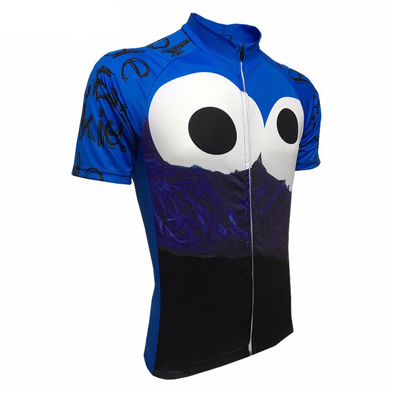 6987b66bb Cookie Monster Cycling Jersey – Quirky Jerseys