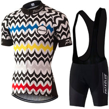 PHTXOLUE Graphic Cycling Jersey and Shorts Combo