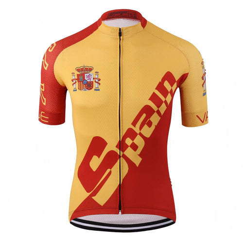 Spain National Pro Tour Cycling Jersey