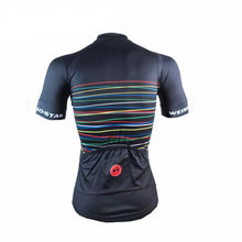 Load image into Gallery viewer, Rainbow Lines Cycling Jersey