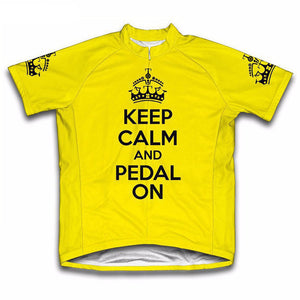 Keep Calm Cycling Jersey