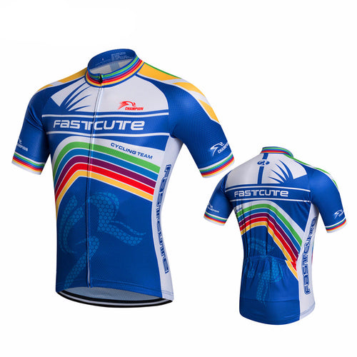 Fastcute Multi Colour Cycling Jersey