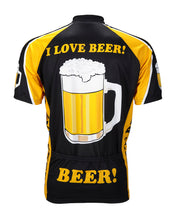 Load image into Gallery viewer, I Love Beer Cycling Jersey