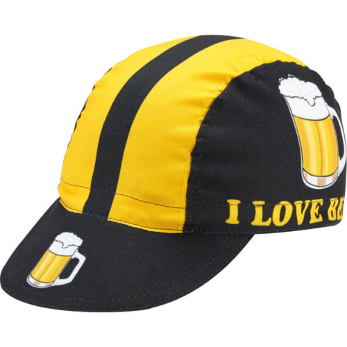 I Love Beer Cycling Cap