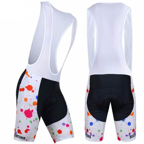 Paint Splash Bib Shorts