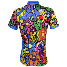 Sixties Flower Power Women Cycling Jersey