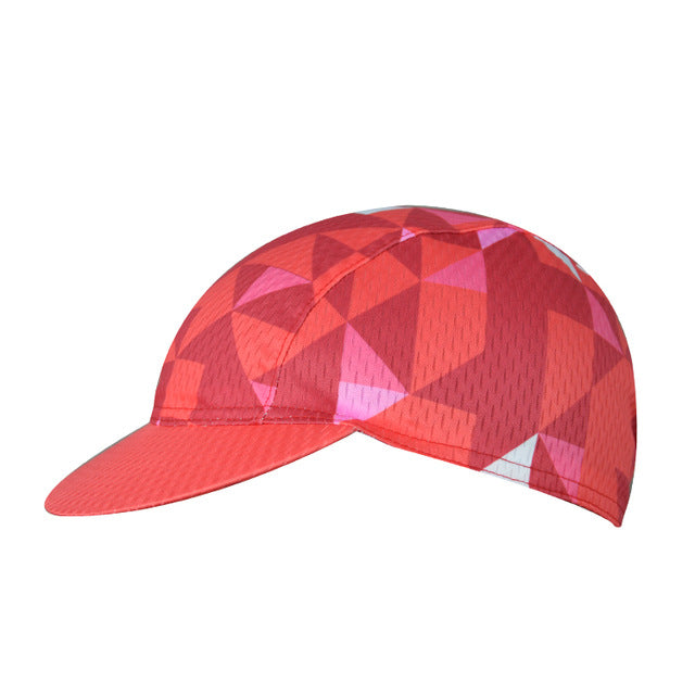 Trippy Triangles Cycling Cap