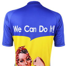 Load image into Gallery viewer, We Can Do It Women Cycling Jersey