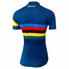 Load image into Gallery viewer, Colour Stripes Women Cycling Jersey