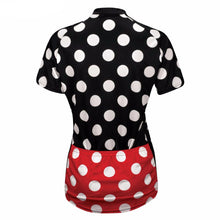 Polka Dot Women Cycling Jersey