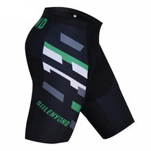 Load image into Gallery viewer, Graphic Lines Bib Shorts