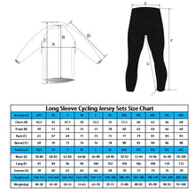 Load image into Gallery viewer, Black with Red Thermal Fleece Long Sleeve Cycling Jersey and Shorts Combo