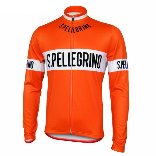 San Pellegrino Retro Long Sleeve Cycling Jersey