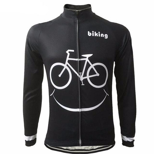 Smile Bike Long Sleeve Jersey