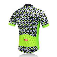 Tiny Pattern Cycling Jersey