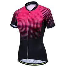 Load image into Gallery viewer, Dots and Lines Women Cycling Jersey
