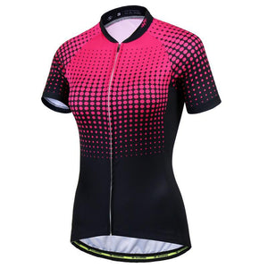 Dots and Lines Women Cycling Jersey