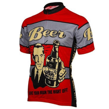 Retro Beer Cycling Jersey