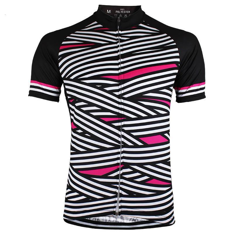 Zebra Ribbon Cycling Jerseys