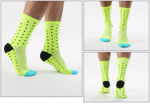 Load image into Gallery viewer, Multi Colour Polka Dot Cycling Socks