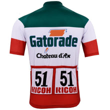 Load image into Gallery viewer, Team Gatorade Chateau d'Ax Retro Cycling Jersey