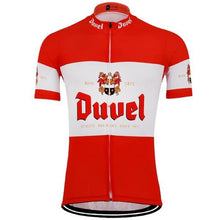 Duvel Cycling Jersey in Red