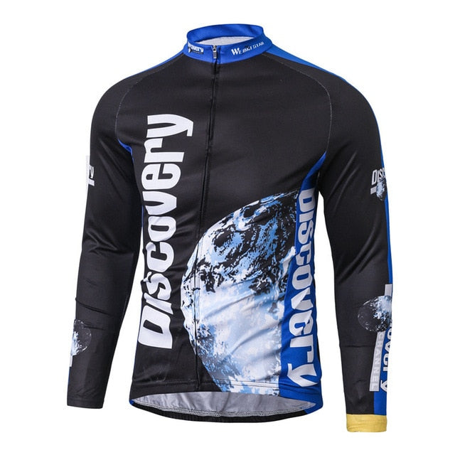 Discovery Channel Long Sleeve Cycling Jersey