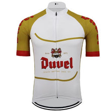 Duvel Cycling Jersey in Gold