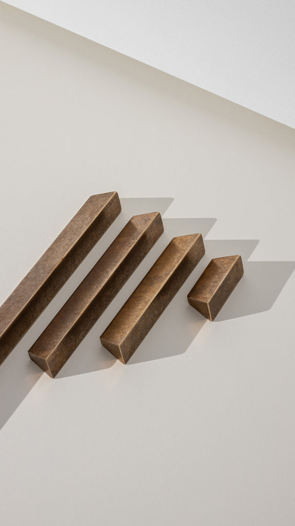 croxford brass linear pulls collection