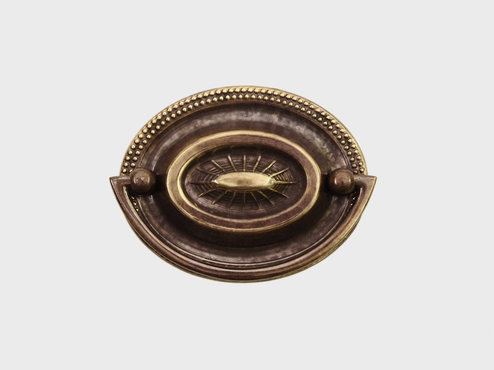 1633 Oval Plate Handle