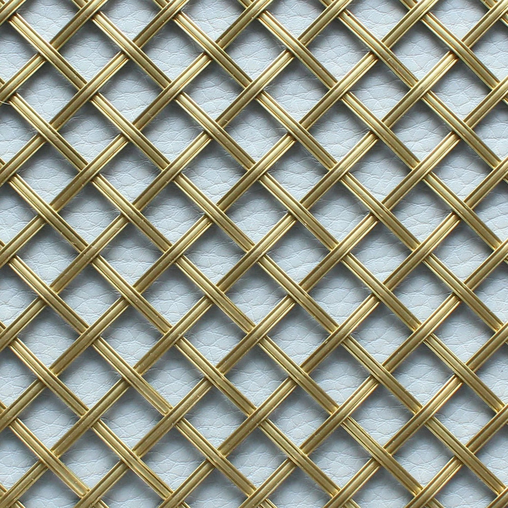 Diamond and Square Interwoven Grilles
