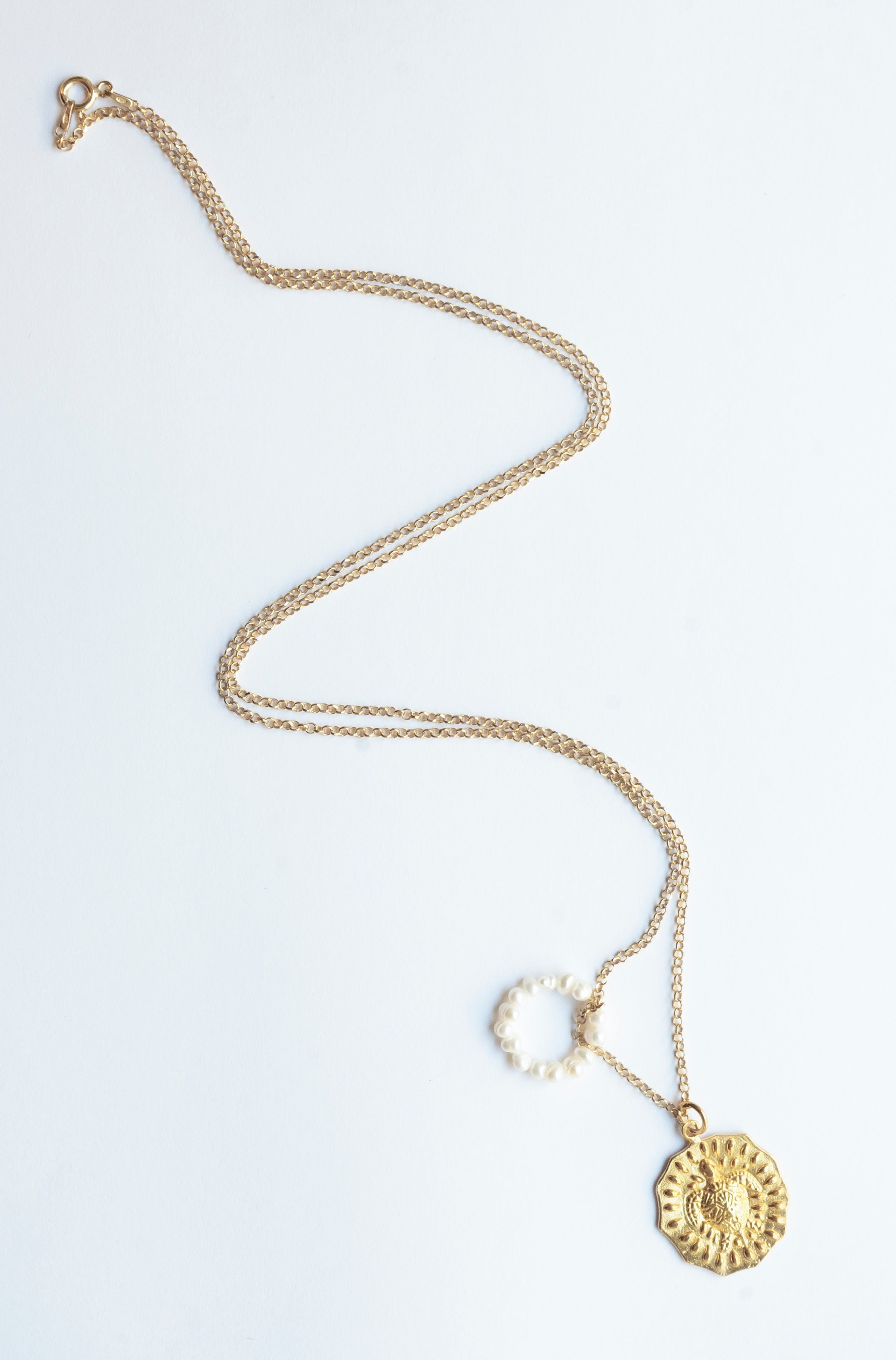 Sea Turtle Necklace - Gold Plated