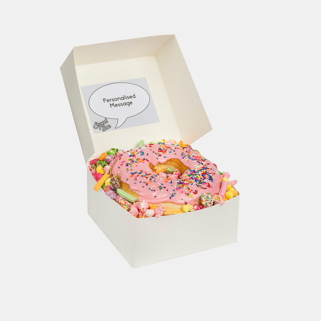 Sweet Box Melbourne Jumbo Pink Donut Box