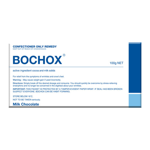 Dark Chocolate Bar - Bochox