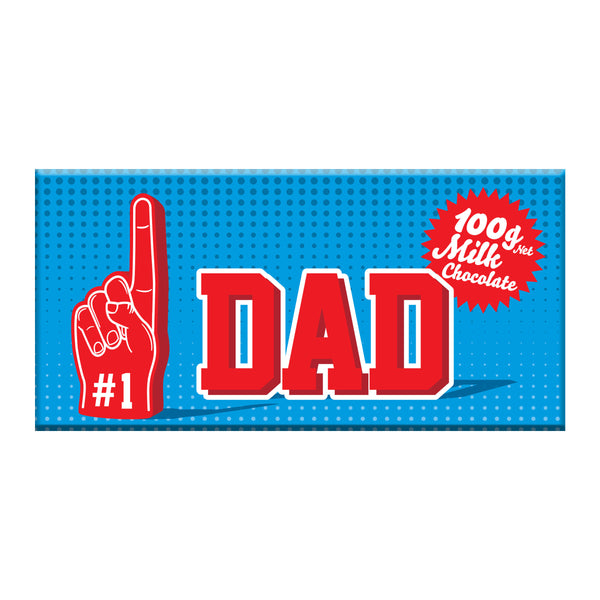 Milk Chocolate Bar - #1 Dad