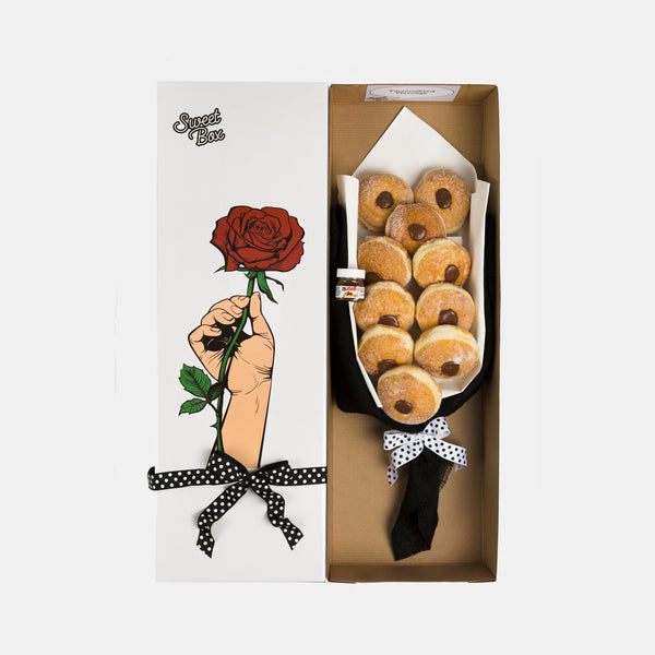 Nutella Roses Bouquet - Sweet Box Melbourne