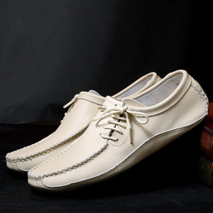 British Retro Casual Leather Flat Shoes