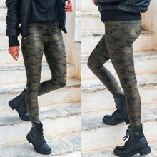 Sexy High Waist Tight Print Camouflage Casual Pants
