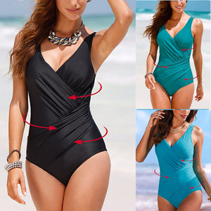 Sexy Fashion Halter One-Piece Swimsuit