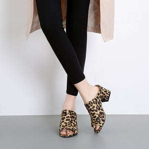 Fashion Thick Sandals Versatile High Heels Casual Shoes
