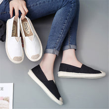 Casual Roun Head Split Joint Soft Flat Shoes