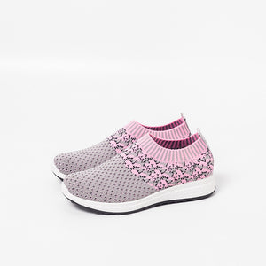 Casual Round Head Breathable Soft Sneaker