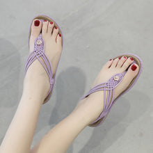 The New 2019 Buckle Woven Women's Casual Sandals