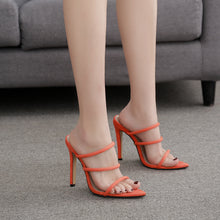 New High-Heeled Shoes Pointed Fashion Sandals